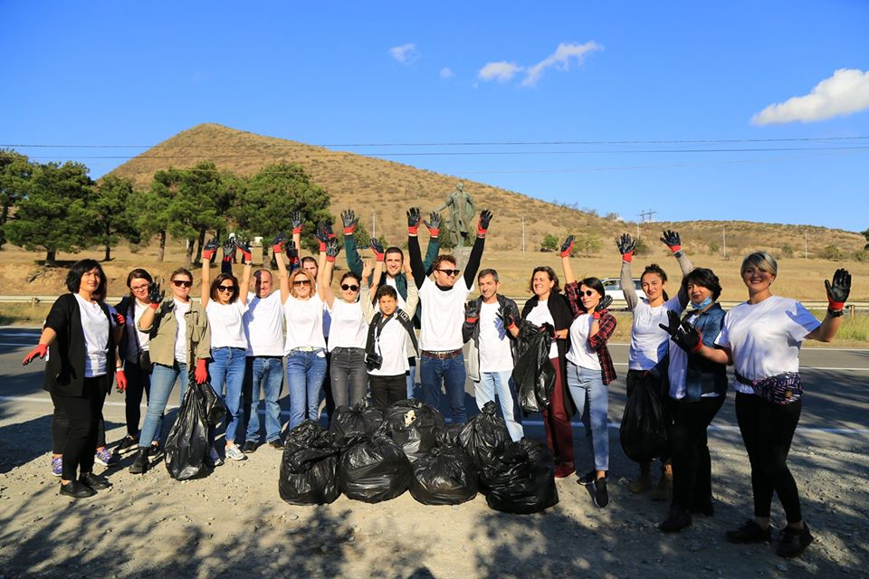 Cleaning action related to Mtskheta