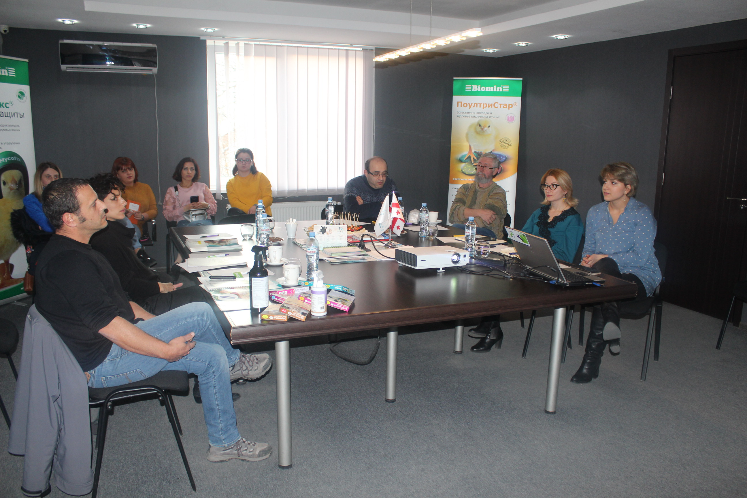 Solano's visit to the Invet Group