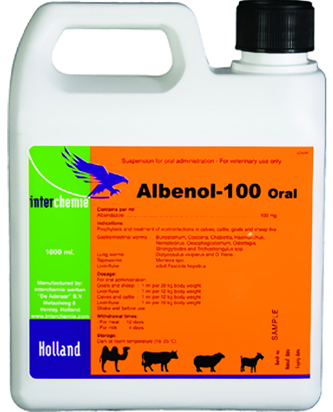 Albenol 100 oral anthelmintic